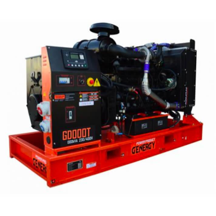 Generador 75000W GD90T Open Diesel Genergy