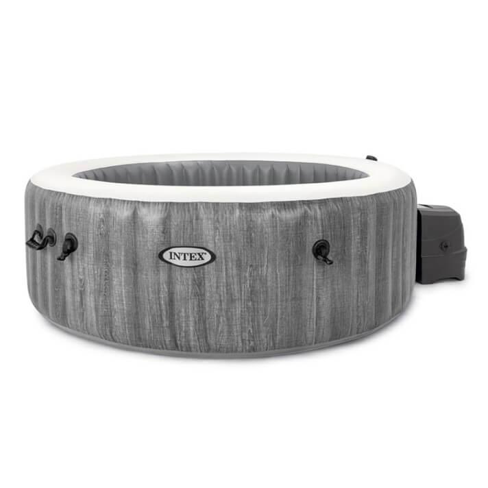 Spa hinchable para 4 personas color gris Greywood Deluxe Intex