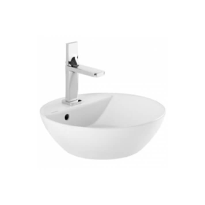 Vasque ronde 42 Sanlife (perçage pour robinetterie) Sanindusa