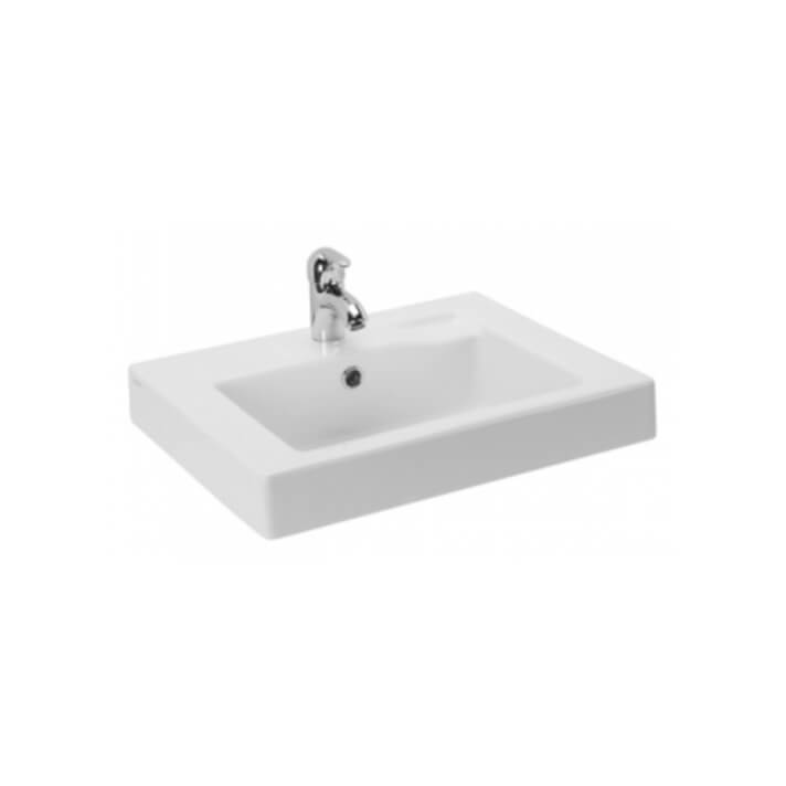 Plan vasque semi-encastré LINHA 55 Sanindusa