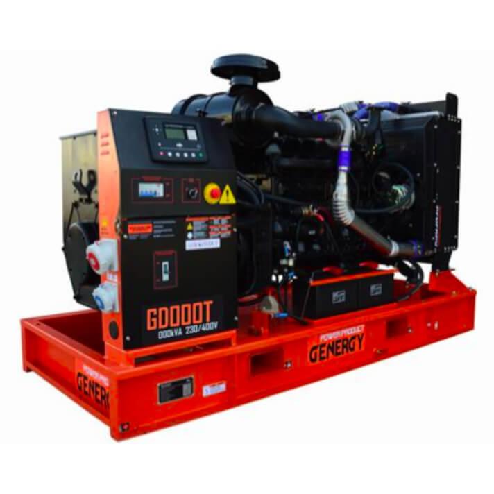 Generador 101000W GD130T Open Diesel Genergy