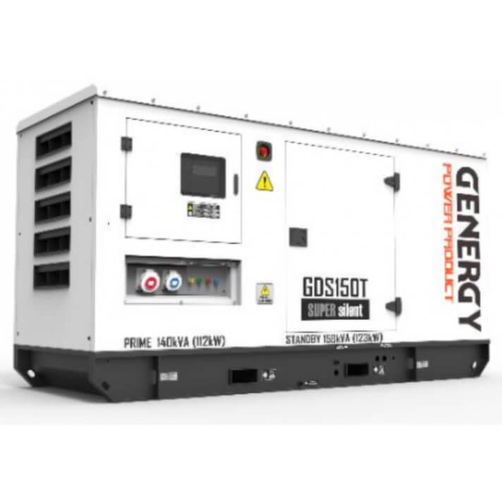 Generador 123000W GDS150T Silent Diesel Genergy