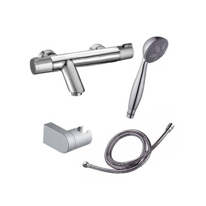 Torneira termostática para banheira Nine Urban com kit de duche - CLEVER