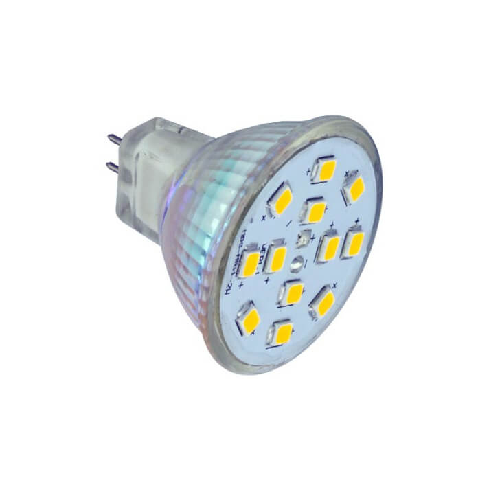 10 Bombillas LED de 2W As de Led