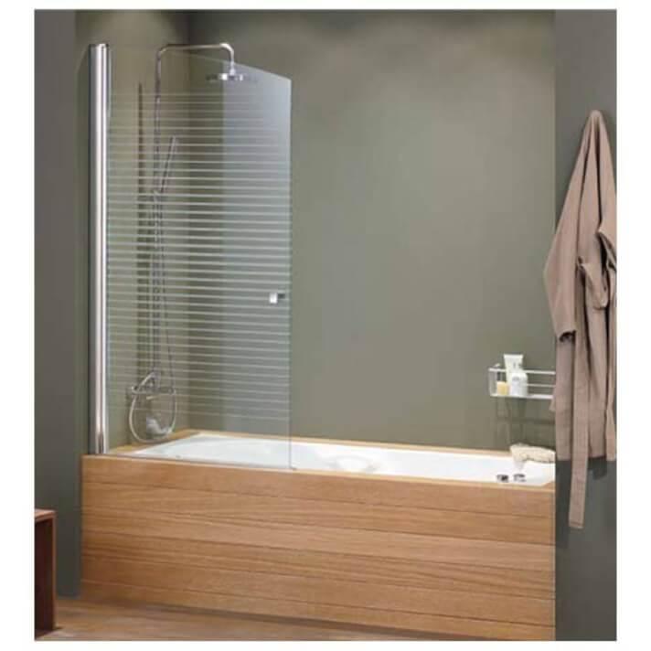 Mampara de bañera frontal abatible AC210-70