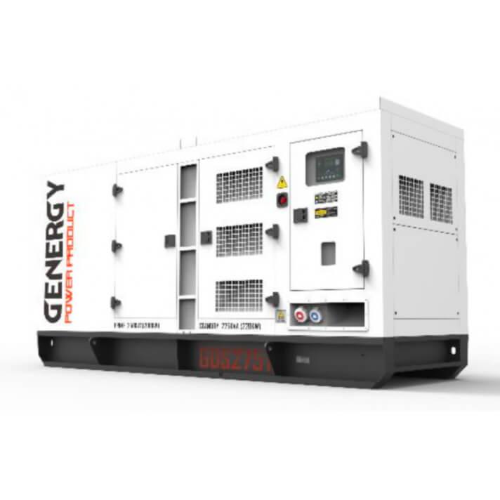 Generador 220000W GDS275T Silent Diesel Genergy