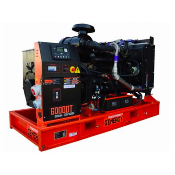 Generador 220000W GD275T Open Diesel Genergy