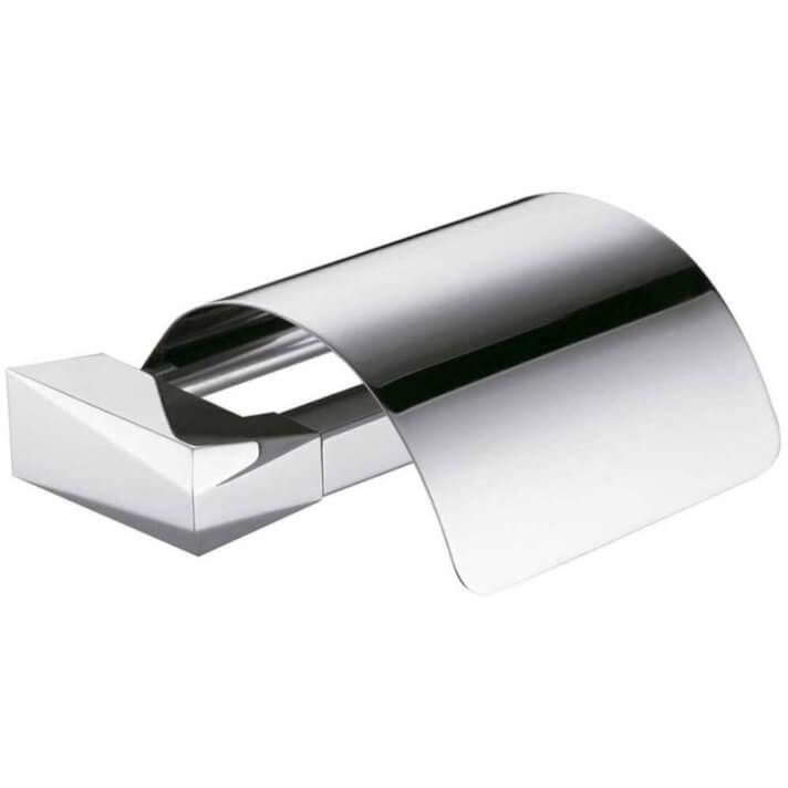Porta rolos com tampa Ventu para parede - CLEVER