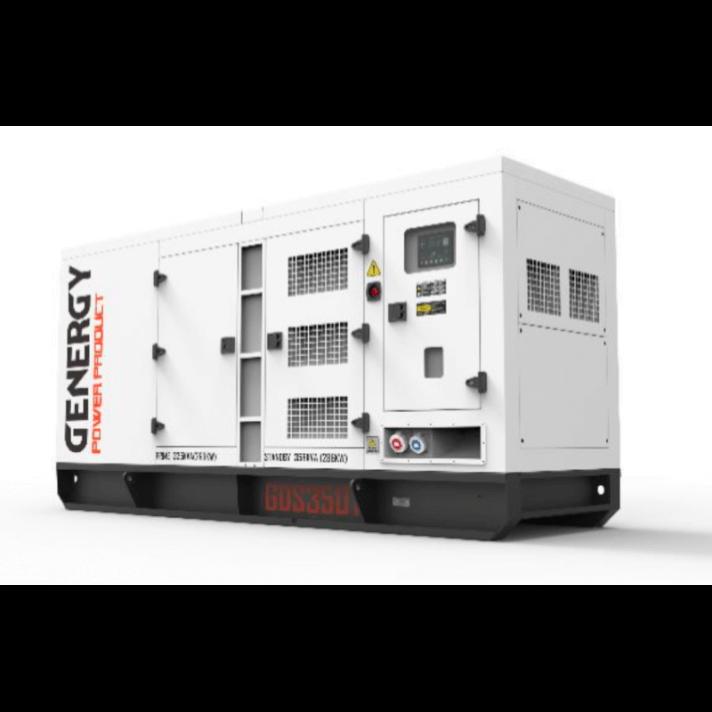 Generador 286000W GDS350T Silent Diesel Genergy