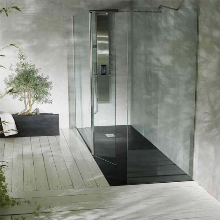 Painel de duche Screen 2 painéis fixos + batente B10