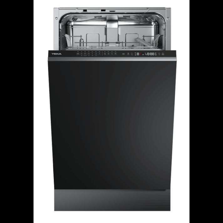 Lave-vaisselle encastrable pour 10 couverts couleur noire Teka