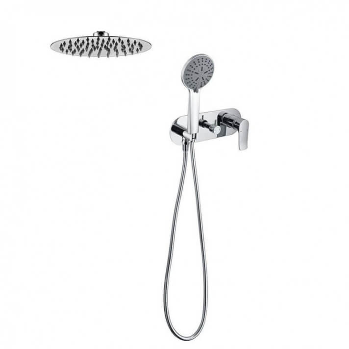 Conjunto de ducha empotrado monomando SARABIA