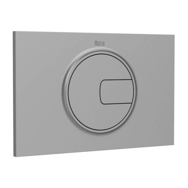 Placa PL4 gris Dual One Roca