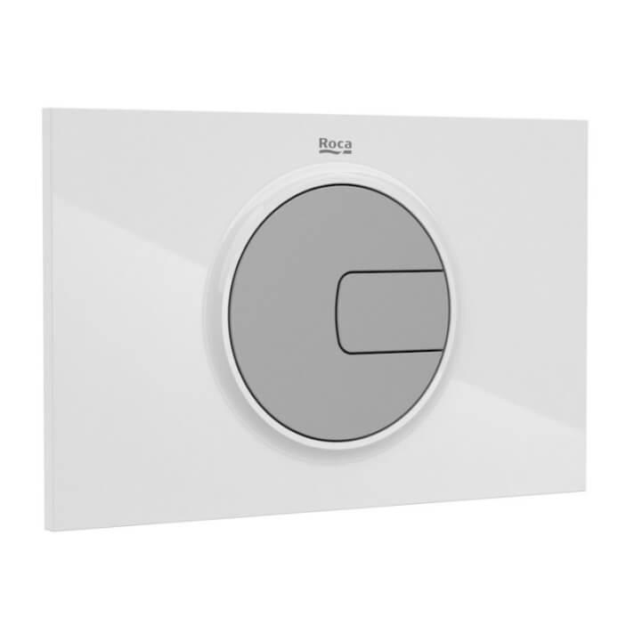 Placa PL4 blanco gris Dual One Roca