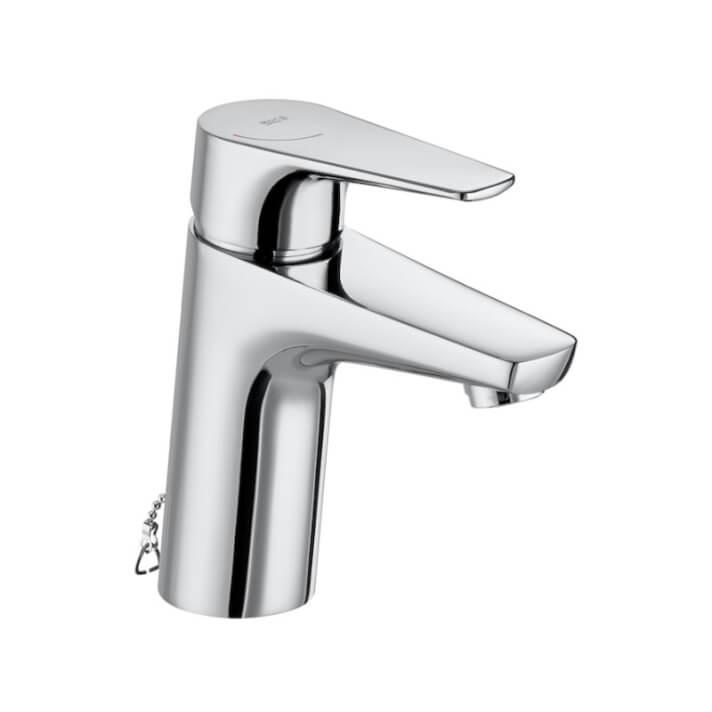 Miscelatore lavabo con catenella retrattile Atlas Roca