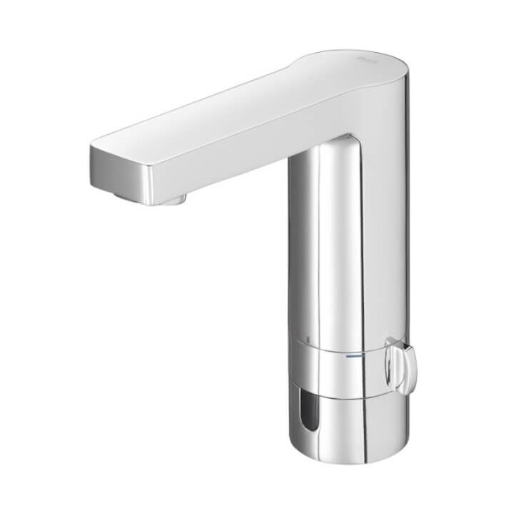Robinet de lavabo mitigeur alimentation à piles L90 Roca