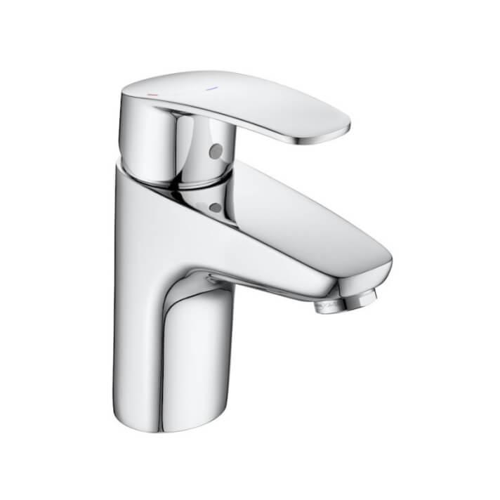 Miscelatore lavabo con corpo liscio Monodin-N Roca