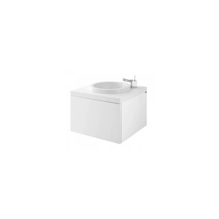 WCA Plan de toilette 60 pour vasque à encastrer et meuble Sanindusa