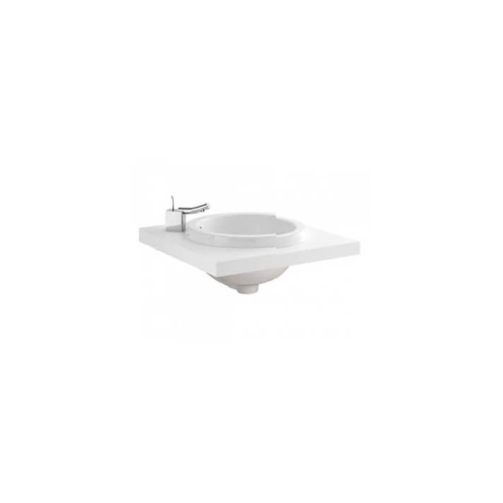 WCA Plan de toilette 60 pour vasque à encastrer Sanindusa
