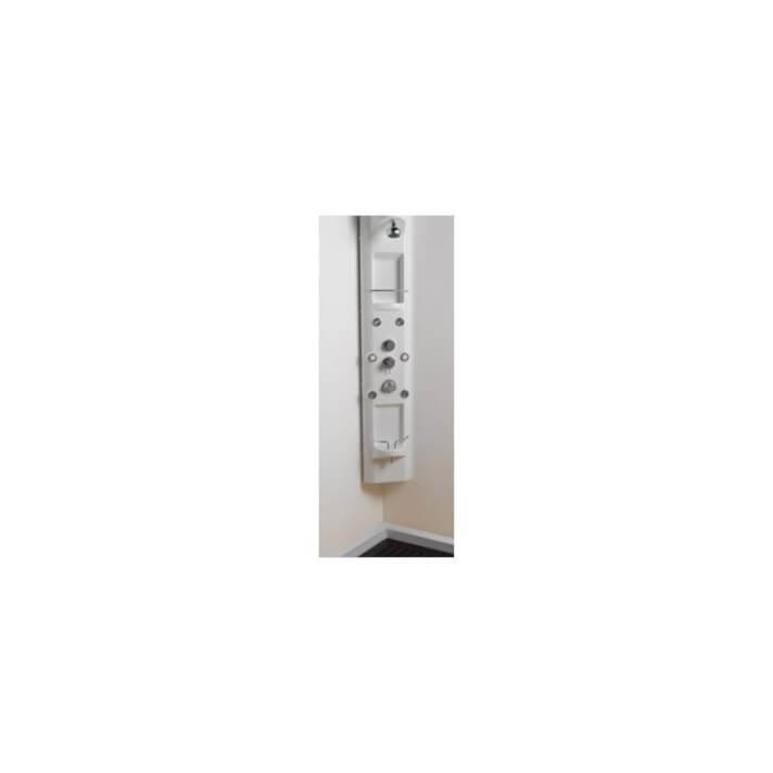 Colonne RELAX d'angle avec robinet thermostatique Sanindusa