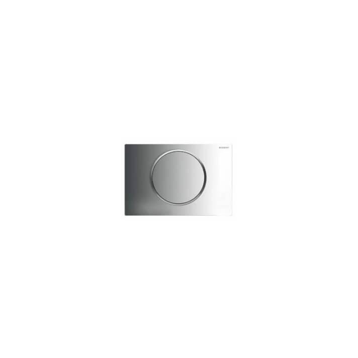 Plaque de chasse Sigma10 Chromé Brillant Geberit