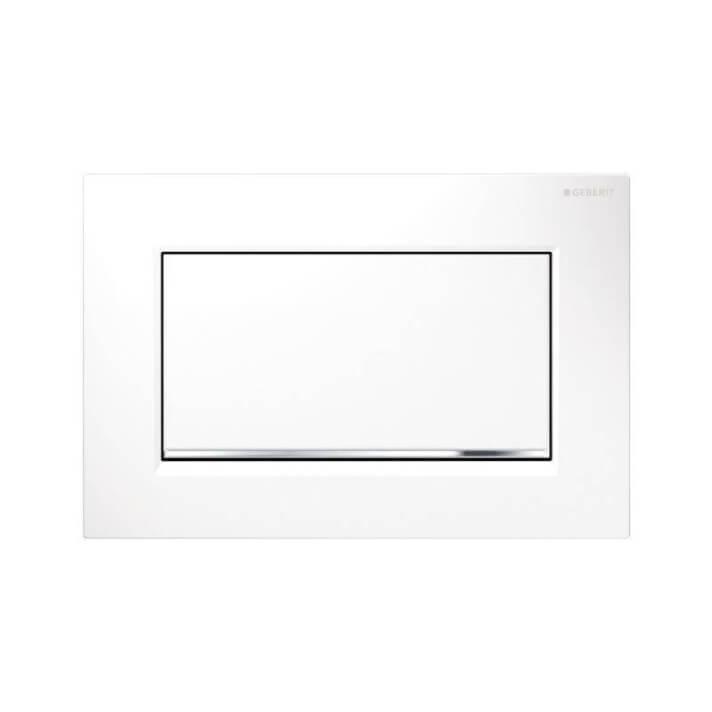 Pulsador de descarga única Sigma30 Blanco