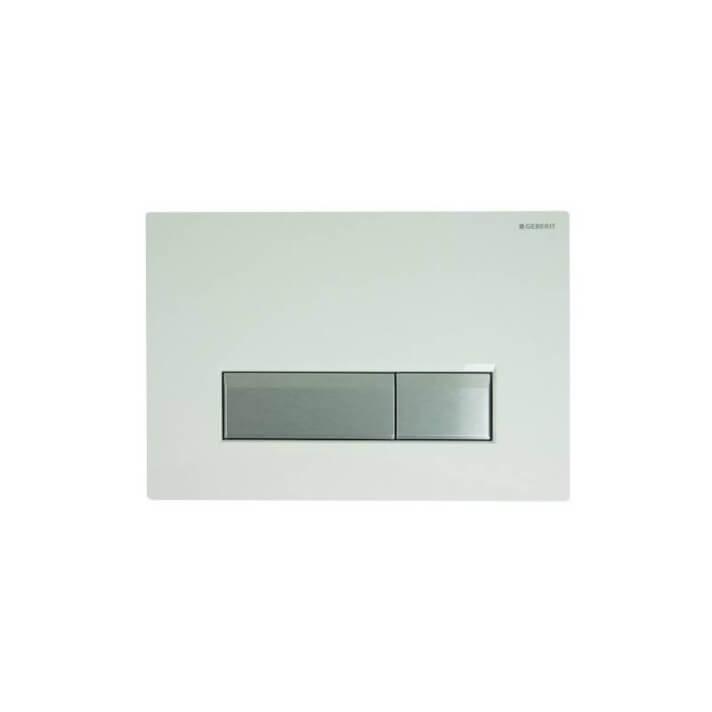 Plaque de chasse Sigma40 Plastique Blanc Geberit