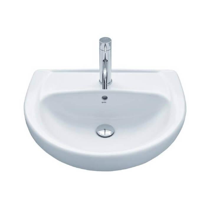 Vasque semi-encastrée Gala Elia 55 x 45, 5 cm
