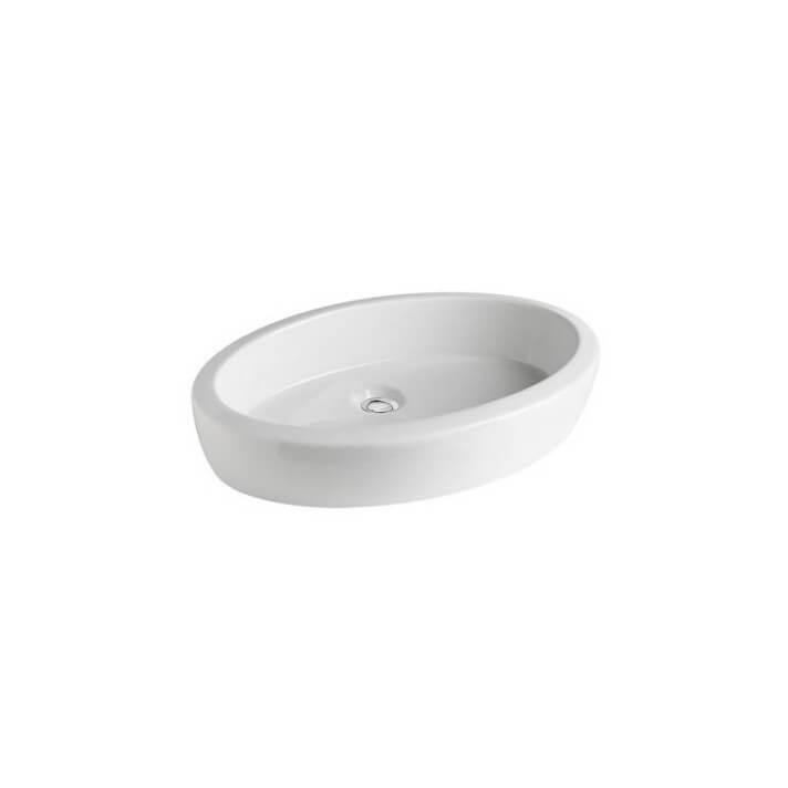 Vasque à poser Gala Eos ovale 59,3 x 39,5 cm