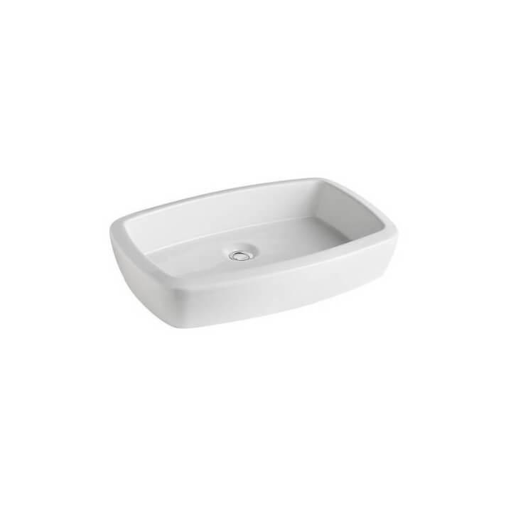 Vasque à poser Gala Eos rectangulaire 59,3 x 39,5 cm