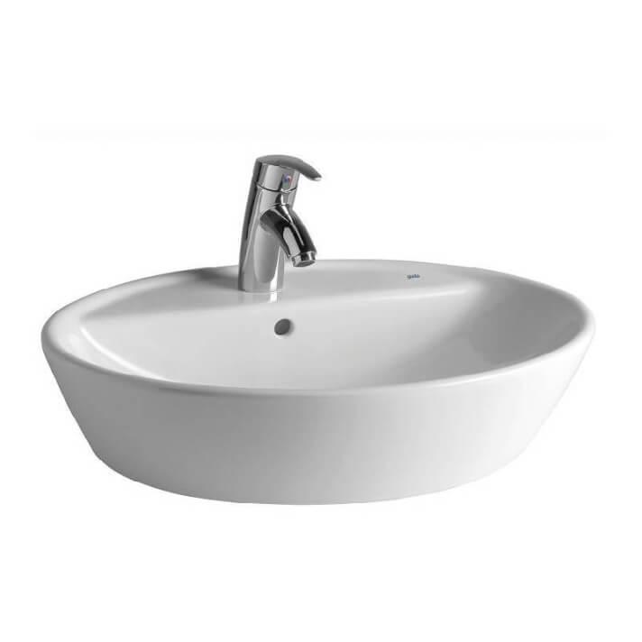 Vasque à poser 575 mm Soft Gala avec perçage pour robinet