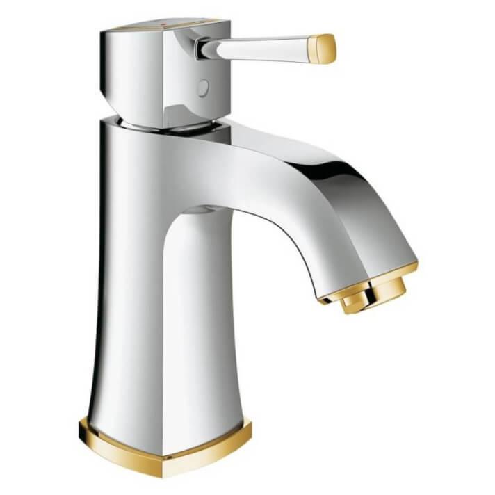 Robinet de lavabo Grandera M lisse or Grohe