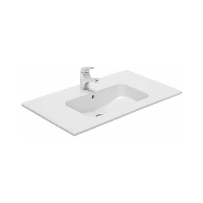 Plan vasque à encastrer Gala Smile 61 x 46 x 1,5 cm