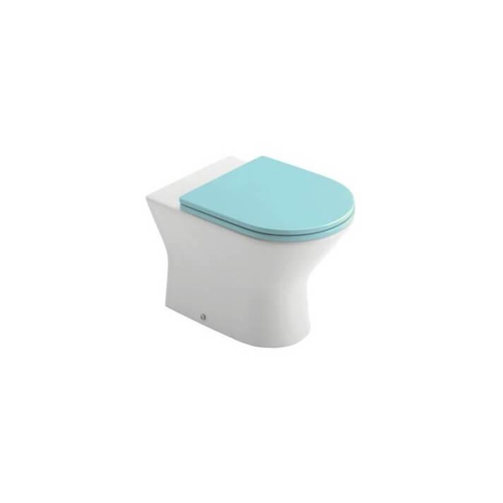 Inodoro Gala Baby wc azul BTW compacto