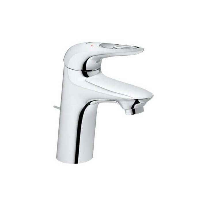 Grifo lavabo S de palanca con hendidura Grohe Eurostyle