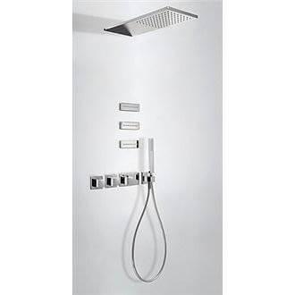 Kit de ducha termostático 3 vías TRES R Jets