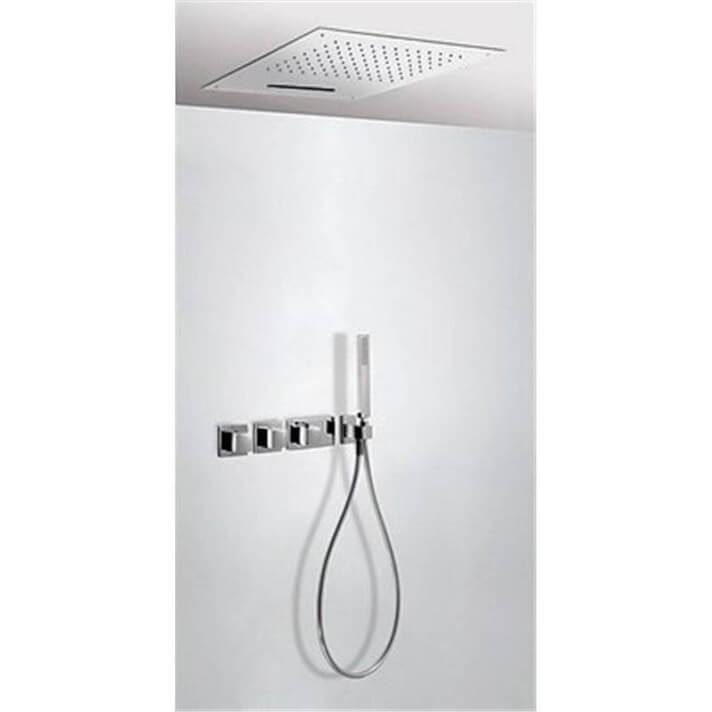 Kit de ducha termostático 3 vías TRES C Cascada