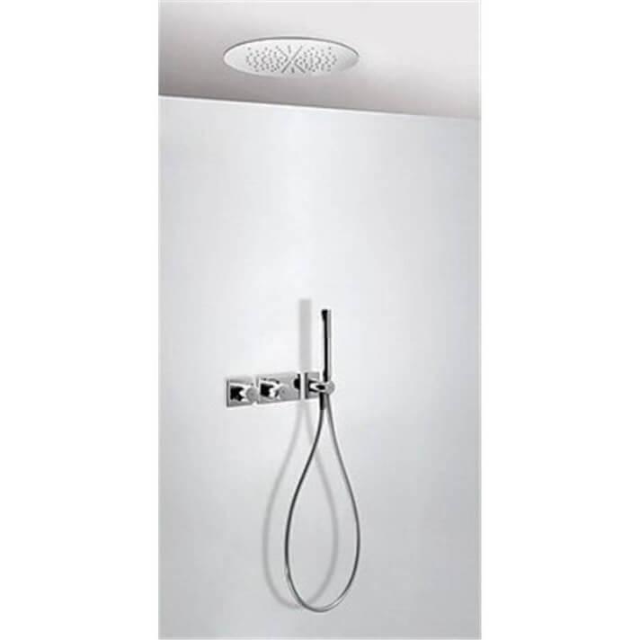 Kit de ducha termostático TRES RTR Ø38