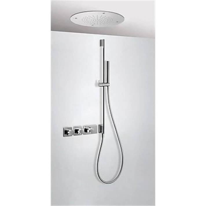 Kit de ducha termostático Nebulizador 3 vías TRES EC+