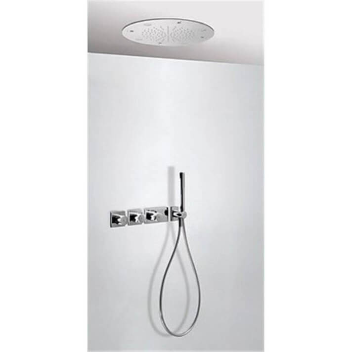 Kit de ducha termostático Cromoterapia y Nebulizador 3 vías TRES