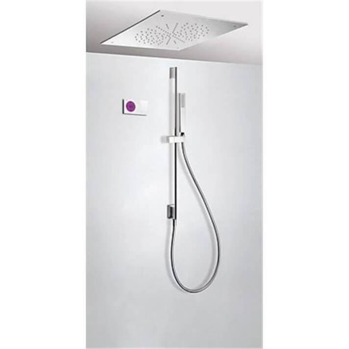 Kit de ducha termostático electrónico TRES RT 50x50