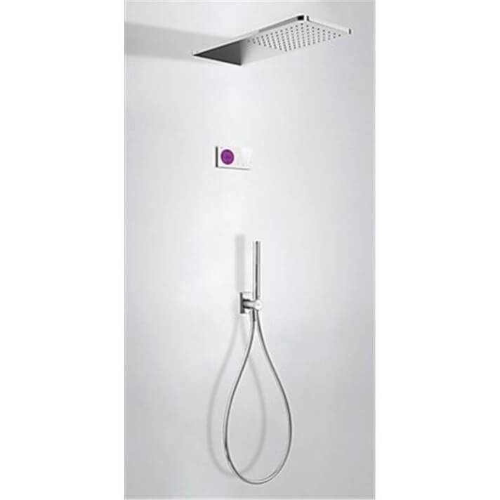 Kit de ducha termostático electrónico TRES C