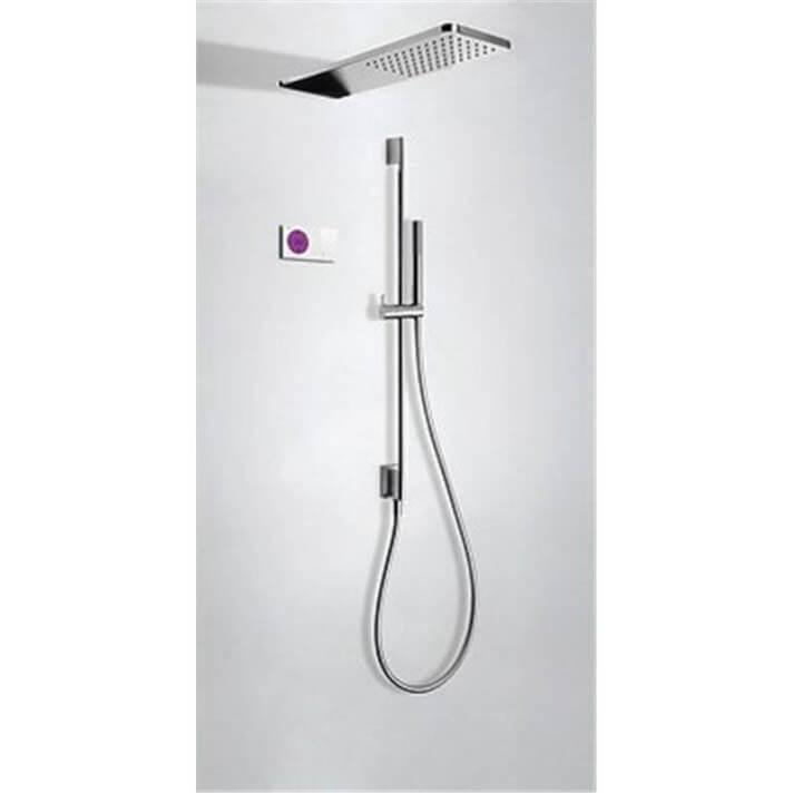 Kit de ducha termostático electrónico TRES C+