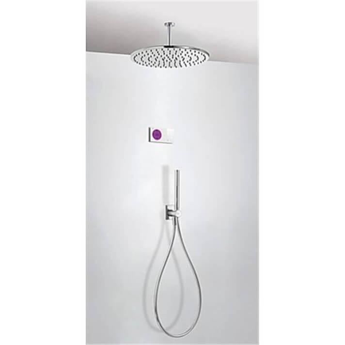 Kit de ducha termostático electrónico TRES BRT C