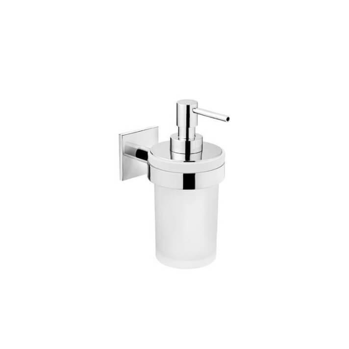 Distributeur de savon en verre DUO Square Bath+