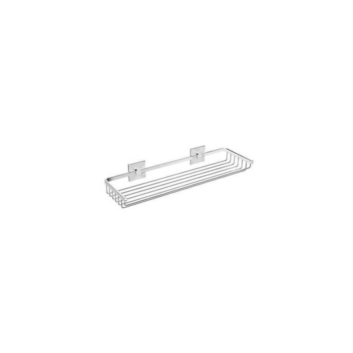Mensola a griglia doppio supporto 40 Duo square BATH+