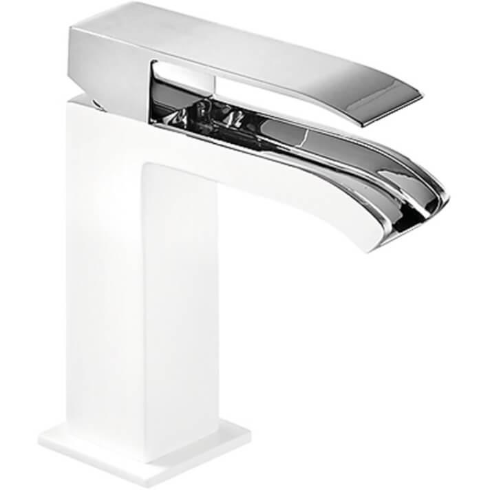Robinet de lavabo Blanc de cascade libre TRES CUADRO