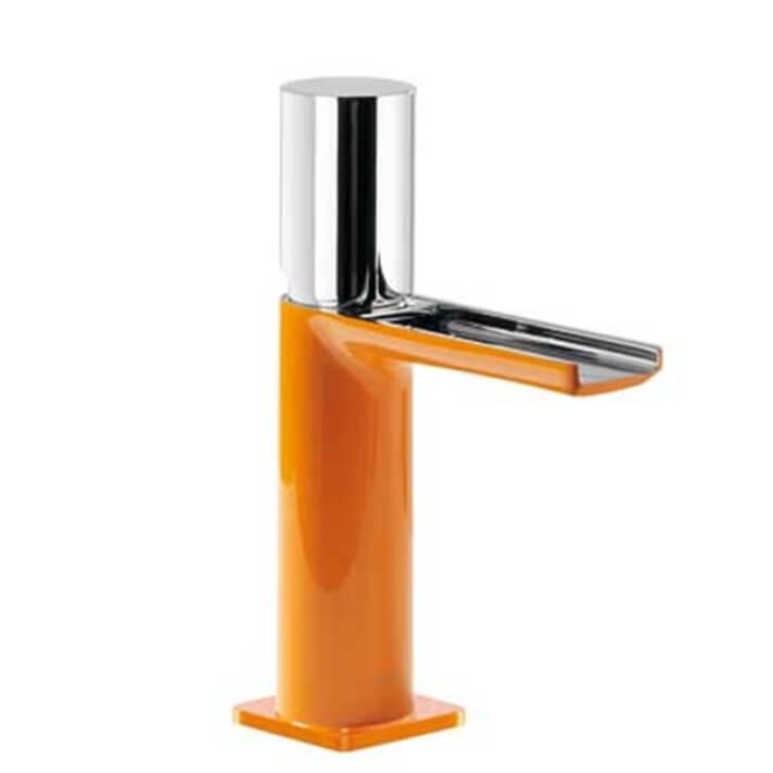 Grifo de lavabo Naranja de Cascada TRES TUB LOFT