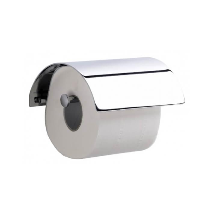 Dérouleur de papier toilette avec couvercle LUXE Sanindusa
