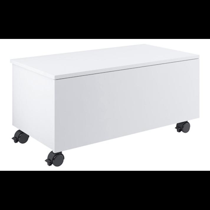 Mobile rotelle 80cm bianco Suma Roca
